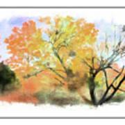 Bull Run Autumn Art Print