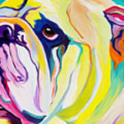 Bulldog - Bully Art Print
