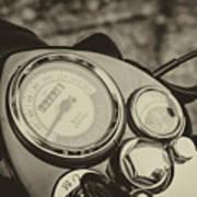 Bullet Speedometer Art Print