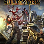 Bulletstorm Art Print