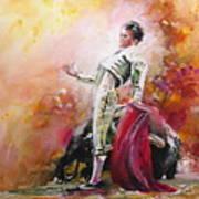 Bullfight 24 Art Print