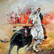 Bullfight 3 Art Print