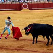 Bullfighting 22 Art Print