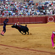 Bullfighting 35 Art Print