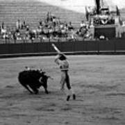 Bullfighting 36b Art Print