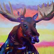 Bullwinkle Art Print