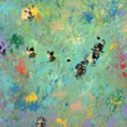 Bumblebees Art Print by Helene Henderson