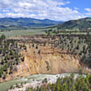 Bumpus Butte Yellowstone Art Print