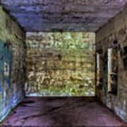 Bunker Walls Art Print