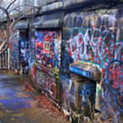 Bunkers Of Ft Wetherill Art Print