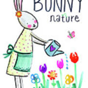 Bunny Nature Art Print