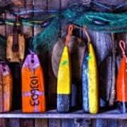 Buoys For Sale  Art Print