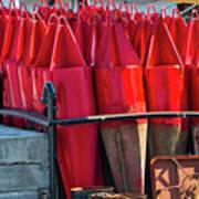 Buoys For The Mississippi Art Print