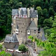 Burg Eltz Castle Art Print