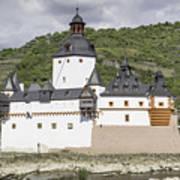Burg Pfalzgrafenstein In Kaub Germany Art Print