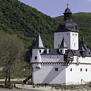 Burg Pfalzgrafenstein Art Print