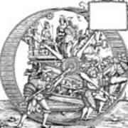 Burgkmair - Maximilian Art Print