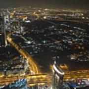Burj Khalifa Dubai Art Print