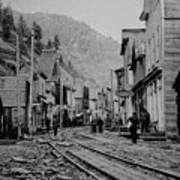 Burke Idaho Ghost Town In Its Prime Art Print