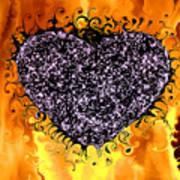 Burning Desire Art Print