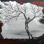 Burning Desire Art Print by Sylvia Sotuyo