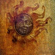 Burning Sun Art Print