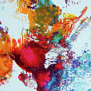 Burst Of Consciousness Art Print