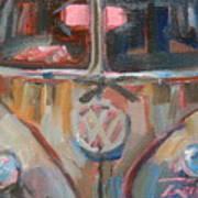 Bus-rust Art Print