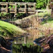 Buschman Park Bridge Art Print