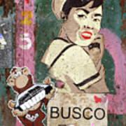 Busco Art Print