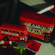 Buses Art Print