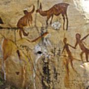 Bushman Painting Art Print