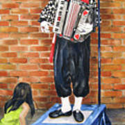Buskerfest Street Toronto Art Print