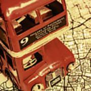Bussing Britain Art Print