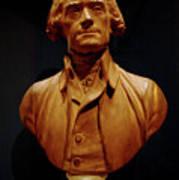 Bust Of Thomas Jefferson  Art Print