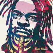 Busta Rhymes Pop Art Poster Art Print