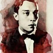 Buster Keaton, Legend Art Print