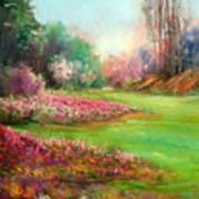 Butchart Garden Art Print