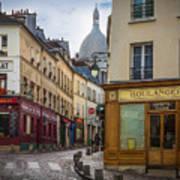 Butte De Montmartre Art Print