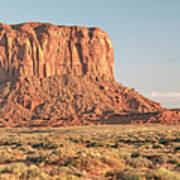 Butte, Monument Valley, Utah Art Print