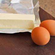Butter And Eggs Art Print