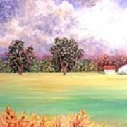Butterfield Meadows Three Art Print