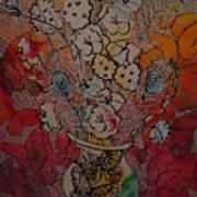 Butterflies And Flower Art Print