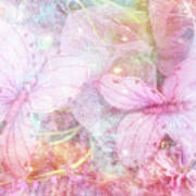 Butterflies Pastel Pink Watercolor Decor - Pastel Pink Butterfly Butterflies Home Decor Poster  sc 1 st  Fine Art America : pink butterfly wall art - www.pureclipart.com