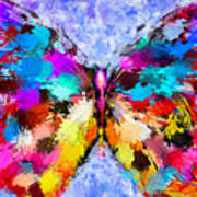 Butterfly 2 Art Print by Yury Malkov