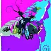 Butterfly Art By Lisa Kaiser Art Print
