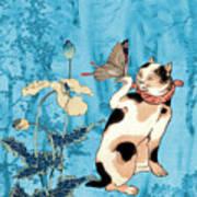 Butterfly Charmer Art Print