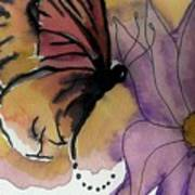 Butterfly Collecting Art Print