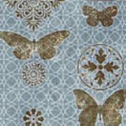 Butterfly Deco 1 Art Print
