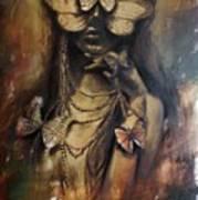 Butterfly Girl.  Art Print